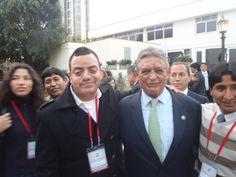 Con un Ex-Presidente de Latinoamérica en la Cumbre de Ex-Presidentes en el Country Club de San Isidro. (2011)