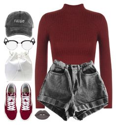 """""""Just Thoughts"""" by oh-aurora ❤ liked on Polyvore featuring WearAll, Vans, Geox and Ray-Ban"""