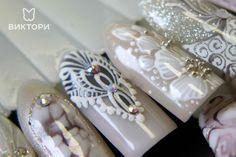 Кружевной дизайн ногтей. Секреты мастера
