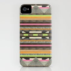 DG Aztec No. 2 iPhone Case by dawn gardner