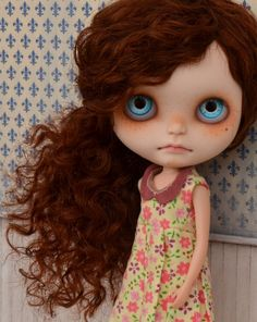 Ooak custom blythe doll by natcase1