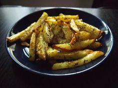 Oliivin ystävä: Kotitekoiset ranskalaiset perunat uunissa