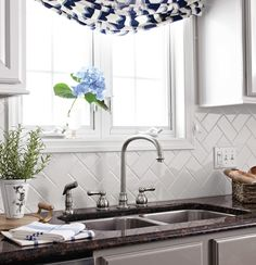 KITCHEN TILE BACKSPLASH INSPIRATION: How do you choose the perfect kitchen tile backsplash? There are so many decisions. These are 12 ideal options for the kitchen backsplash and ONE is what I chose for my kitchen renovation. Click over to check them out > www.JennaBurger.com