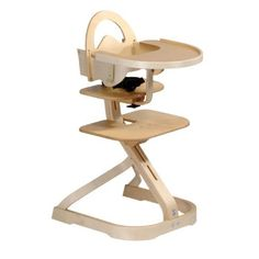 Beau $236.88 $289.99 Baby Svan High Chair With Tray Cover   Natural    Discriminating Parents Can