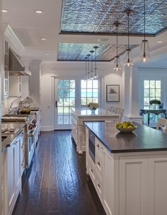 long narrow spaces - Evanston Award Winning Kitchen - contemporary - kitchen - chicago - Airoom Architects-Builders-Remodelers