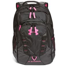 Under Armour 'Recruit' Water Resistant Backpack ($65) ❤ liked on Polyvore