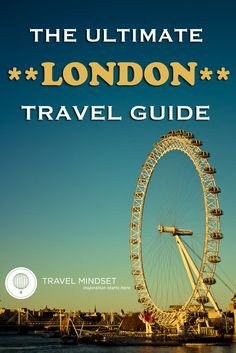 The ultimate London travel guide. Travel Info, Time Travel, Travel Guides, Places To Travel, Places To Go, Travel Destinations, Travel Hacks, European Vacation, England And Scotland