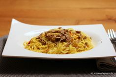 Schöner Tag noch! Food-Blog mit leckeren Rezepten für jeden Tag: Selbst gemachte Pasta mit Trüffel und Safran