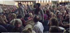 Utah congressman bolts an hour early from constituent town hall amid 'Your last term!' chants