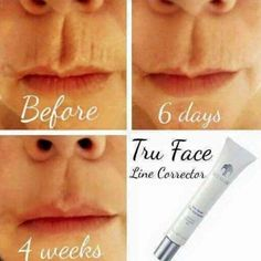 Tru Face Line Corrector targets these visible signs of skin ageing, helping to soften the appearance of fine lines around your mouth, eyes and forehead Nutriol Shampoo, Eyebrow Serum, Skin Line, Face Lines, Belleza Natural, Beauty Shop, Beauty Secrets, Beauty Guide, Beauty Ideas