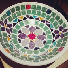 Mosaiquismo // Centro de mesa, $279 en https://ofeliafeliz.com.ar