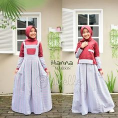 Hanna by Oribelle Kids Hijab Fashion, Overalls, Size 10, Chic, Blouse, Skirts, Dresses, Model, Catsuit