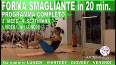 Ginnastica a Casa - Allenamento HIIT in forma in 5 mesi in 20 Minuti 2°M... 20 Min, Hiit, Gym Equipment, Sports, Shape, Home, Hs Sports, Excercise, Workout Equipment