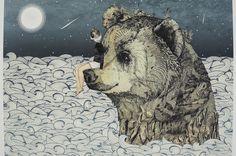 Print Bear Rock