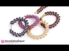 How to Make the Deluxe Beaded Kumihimo Necklace Kit - YouTube