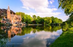 Minnewater Park Bruges Belgium - If you have just one day in Belgium spend it in Bruges rather than in Brussels.