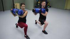 Тренировка с силовым мешком PowerBag