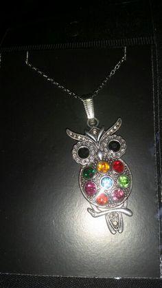 Owl neckkace £3.50