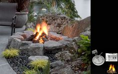 Prodigious Useful Tips: Rectangular Fire Pit Stones fire pit decor outdoor benches.Outdoor Fire Pit Seating fire pit sign how to build. Fire Pit Gravel, Cinder Block Fire Pit, Concrete Fire Pits, Cinder Blocks, Fire Pit Chairs, Fire Pit Seating, Seating Areas, Small Fire Pit, Modern Fire Pit