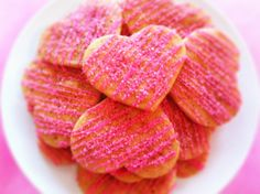 12 Vegan Heart Shaped Sugar Cookies by CompassionateCake on Etsy, $15.95