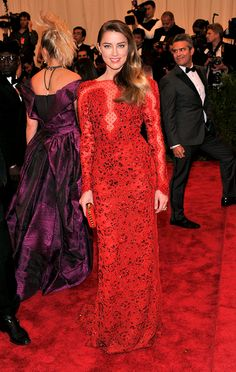 Met Gala Punk Chaos to Couture - Amber Heard... I love this girl