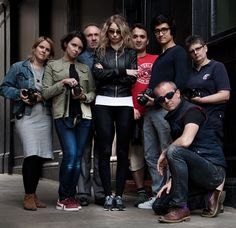 Group portrait from today #portrait #photography #workshop. It was good to meet you all again and our beautiful model Embrace Velvet!  http://www.photoion.co.uk/portrait-photography-course-london/