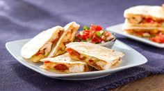 Fresh ingredients combined with bacon and Chihuahua® Cheese nestling between two warm tortillas make for a delectable appetizer you can't resist! Full Recipe: http://www.vvsupremo.com/recipe/chicken-bacon-quesadillas-sincronizadas