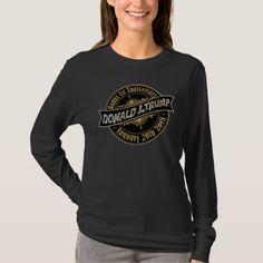 45th US President Trump 1 Year Anniversary T-Shirt - anniversary cyo diy gift idea presents party celebration