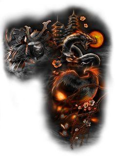 22 super ideas for tattoo designs drawings sleeve tat Dragon Sleeve Tattoos, Best Sleeve Tattoos, Tattoo Sleeve Designs, Tattoo Designs Men, Body Art Tattoos, Hand Tattoos, Maori Tattoos, Samurai Tattoo Sleeve, Trendy Tattoos