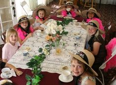 Mommy and Me Tea Party and Fashion Show Burleson, Texas  #Kids #Events