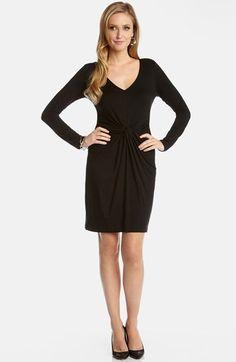 Women's Karen Kane 'Tiffany' Twist Front Dress