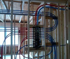Plumbing pex water lines install for toilet sinks for Pex water line problems