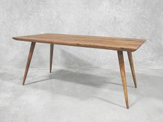 This Scandinavian styled dining table shows that quality craftsmanship is not a thing of the past!
