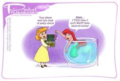 Pocket Princesses 216: Delivery Please reblog, don't repost, edit or remove captions Facebook - Instagram