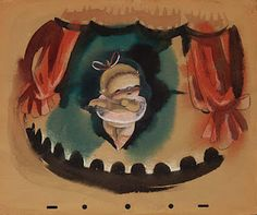 "Mary Blair's first project was done for a discarded sequence from the movie ""Fantasia"" (1940) called ""Baby Ballet""."