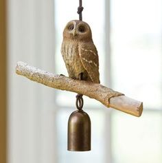 Owl Bird Bell - Marjolein Bastin - Natures Journey