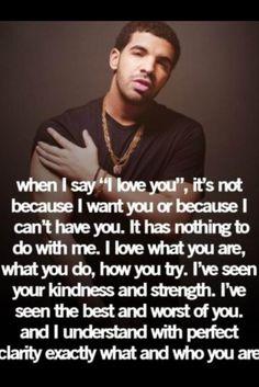 why I say I love you