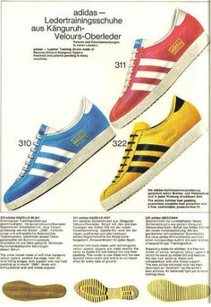 German Adidas Catalogue 1968 | Voices of East Anglia