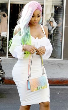 The Story Behind Blac Chyna's 'Fun and Vibrant' Unicorn Wig