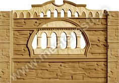 Gard din beton - Model Victorian 2.  Pentru comenzi și detalii sunați la 0749 123 451.  #gardendecor #garden #home #gardbeton Victorian, Mirror, Model, Furniture, Home Decor, Decoration Home, Room Decor, Mirrors
