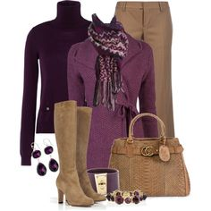 """""""The Color Purple"""" by stylesbyjoey on Polyvore"""