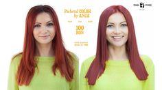 Ingredient Magic: Mixton Rosu (vopsit+tuns+coafat) #041 Salons, Studio, Youtube, Hair, Lounges, Study, California Hair