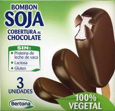 Bombón soja con cobertura al chocolate - Producto