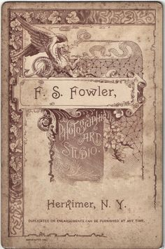 FOWLER F.S. - Herkimer, NY