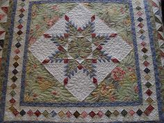 Feathered Star by Jessica's Quilting Studio, via Flickr