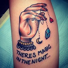 El único old school que me ha gustado... There's magic in the night