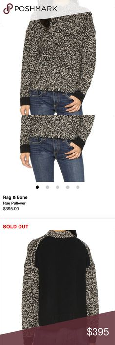 Selling this Rag and Bone Pullover Size Small on Poshmark! My username is: janetcas. #shopmycloset #poshmark #fashion #shopping #style #forsale #rag & bone #Sweaters