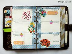 The week nr.48 - flowers #planner
