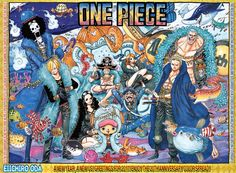 One Piece: Chapter 851
