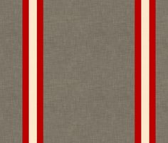 linen_stripes_and_white fabric by holli_zollinger on Spoonflower - custom fabric